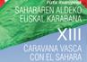 XIIIª Caravana Vasca con el Sahara