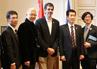 Recepción a los representantes de Taki (Japón)